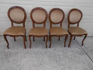 Vintage Mid Century Balloon Back Dining Kitchen Chairs Cranbourne East Casey Area Preview