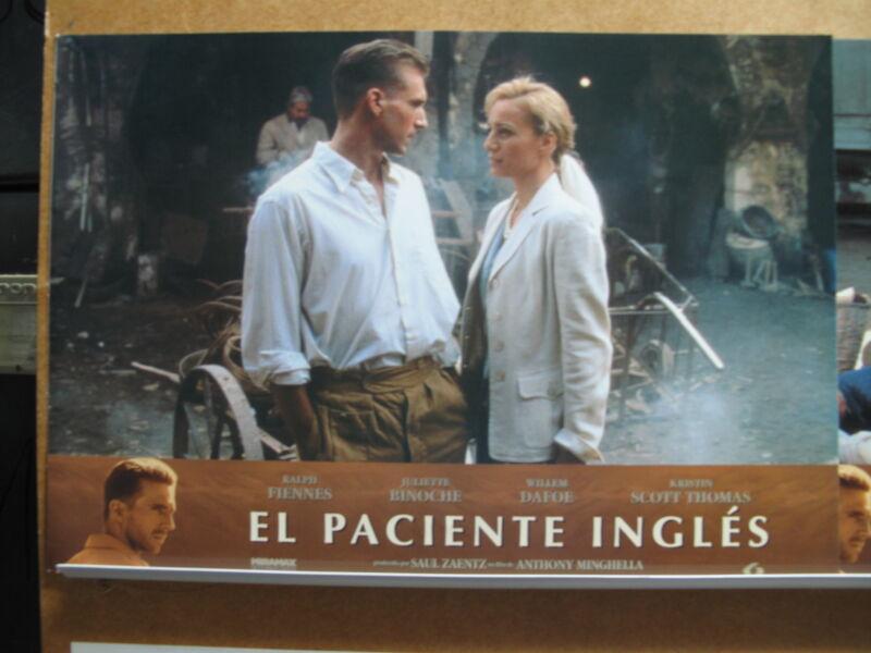 178 El paciente inglés Ralph Fiennes, Kristin Scott Thomas, Juliette Binoche, Wi
