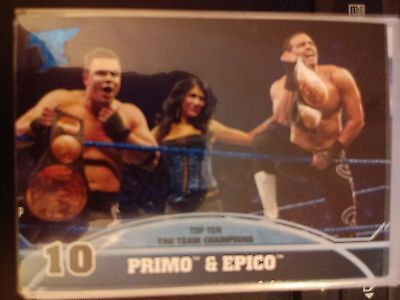 2013 Topps Best of WWE Top Ten Tag Team Champions #10 Primo &