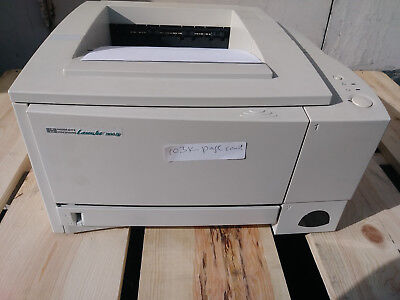 2100 Printer - HP Laserjet 2100tn Laser Printer 103K PAGES W/ POWER CORD & USB CABLE C4172A