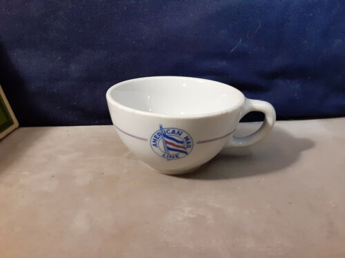 Vintage American Mail Cruise Ship Line Buffalo China Coffee Cup