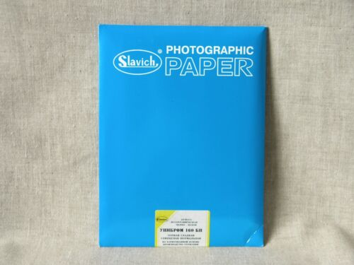"""Photo paper B&W 25 sheets 13x18cm (5""""x7"""") """"Unibrom"""", FB, glossy, normal contrast"""