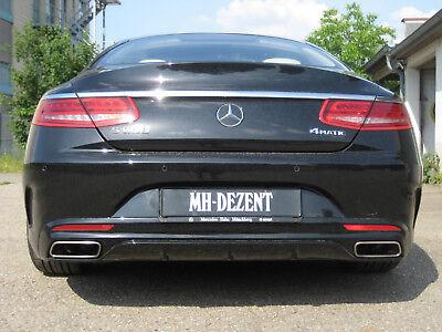MH-DEZENT Sportschalldämpfer mit Klappensteuerung S Klasse Coupe C217 Exclusiv!