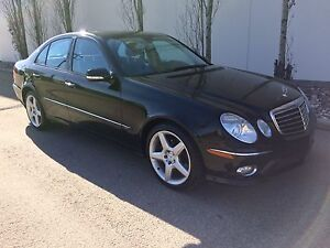2009 Mercedes E350 4matic , Avantgarde pkg, AMG wheels, 107k!