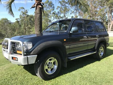 1995 Toyota Landcruiser GXL Rugby World Cup Edition 80 Series