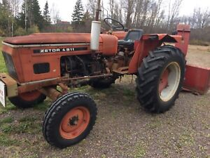 1979 45 hp zetor. With blower
