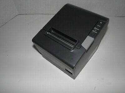 New Epson Tm-t88v Thermal Pos Receipt Printer Ethernet Usb Printer M244a