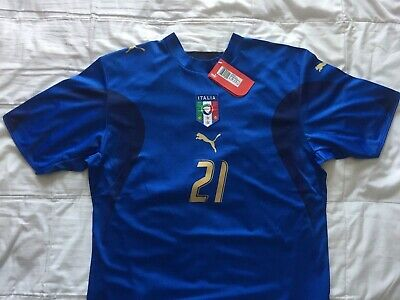 - RARE! Italy world cup 2006 Champion jersey