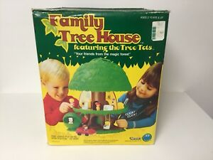 Tree Tots Family Tree House complete in the box by Kenner, 1975