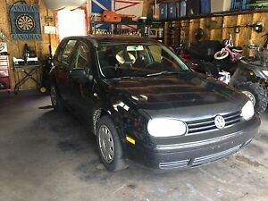 2004 VW Golf 5 speed