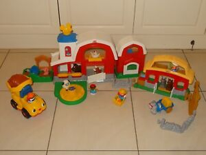 Fisher Price Little People Farm Sets with accessories