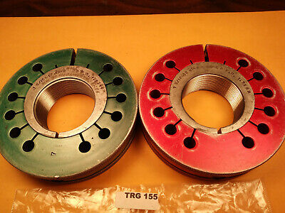 1 916-18 Unef-2a Thread Ring Gages Go Pd 1.5244 No Go 1.5189