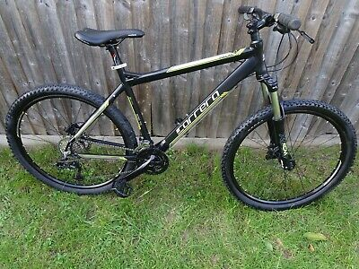 Carrera Vulcan 27.5 20' Large Men's Mountain Bike New Parts In Good Condition
