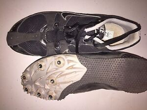 Gently used track shoes