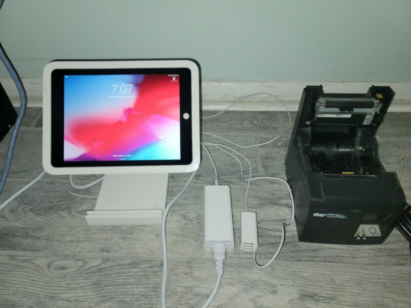 Square Stand WITH IPAD & PRINTER Bundle