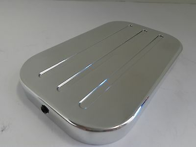 Polished Billet Aluminum GM Truck Master Cylinder Cap Cover Chevy 88-00 350 New!
