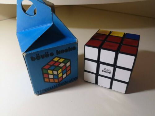 Vintage Hungarian magic Politoys Rubik