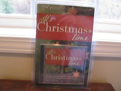 It's Christmas Time Music Book & CD For Choir /Orchestra SATB New Factory-Sealed