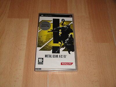 METAL GEAR ACID AC!D 2 + GAFAS 3D DE KONAMI PARA LA...