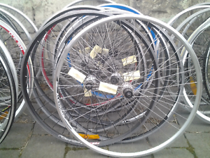Refurbished bike bicycle wheels, 700c road rear 130mm 8/9/10speed Maribyrnong Maribyrnong Area Preview