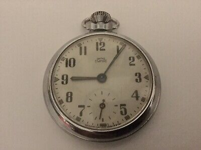 Vintage Smiths Empire Pocket Watch - British Made & Full Working Order