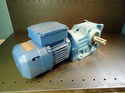 Sew Eurodrive Gear Reducer Motor 12hp 104.371 16rpm 230460vac Right Shaft Nos