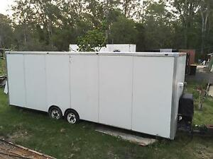 24ft toy hauler box trailer Browns Plains Logan Area Preview