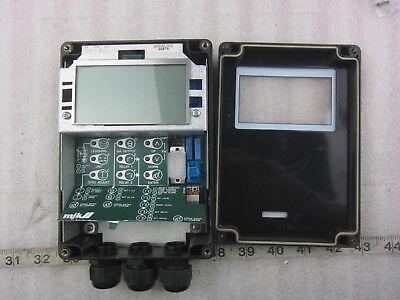 Mjk Shuttle Ultrasonic Level Transmitter W Use Manual Used
