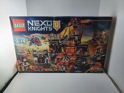 LEGO Nexo Knights Jestro's Volcano Lair Set 70323 New Sealed Box