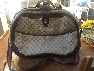 Vintage Gucci Carry On/ Briefcase/ Luggage