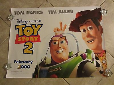 "Toy Story movie poster 30"" x 40"" Walt Disney original Toy Story 2 poster (a)"