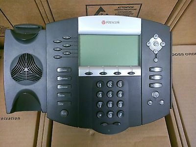 Polycom Soundpoint Ip 650 Ip650 Sip 2201-12630-001 Office Business Phone