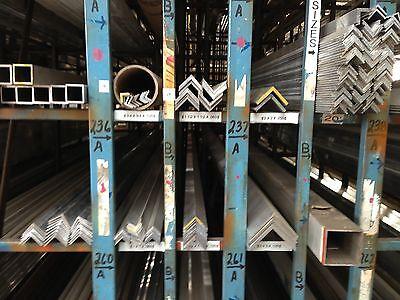 Alloy 6063 Aluminum Angle - 2 X 2 X .250 X 72