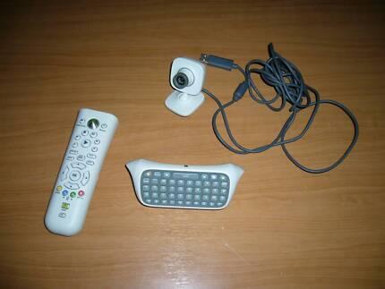 Genuine Xbox 360 Accessories Remote / Keypad Keyboard / Camera