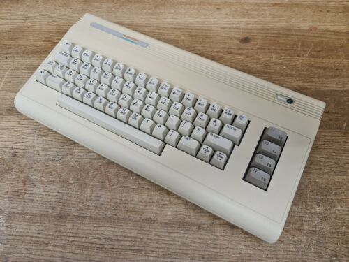 Commodore 64G PAL European Model With Switchable Jiffydos installed