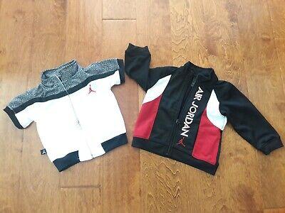 Lot of 2 Air Jordan JUMP MAN Jacket 23 Baby Boy Short Sleeve Cement 6/9 Months
