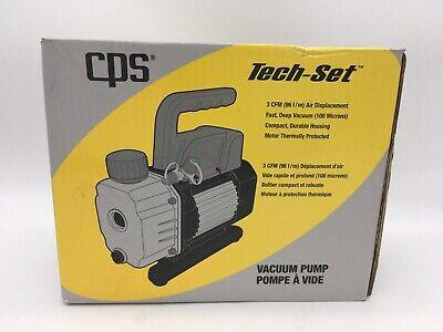 Cps Tech-set 3 Cfm Single-stage Vacuum Pump 115v 60hz 96 Lm Tavpc96su New