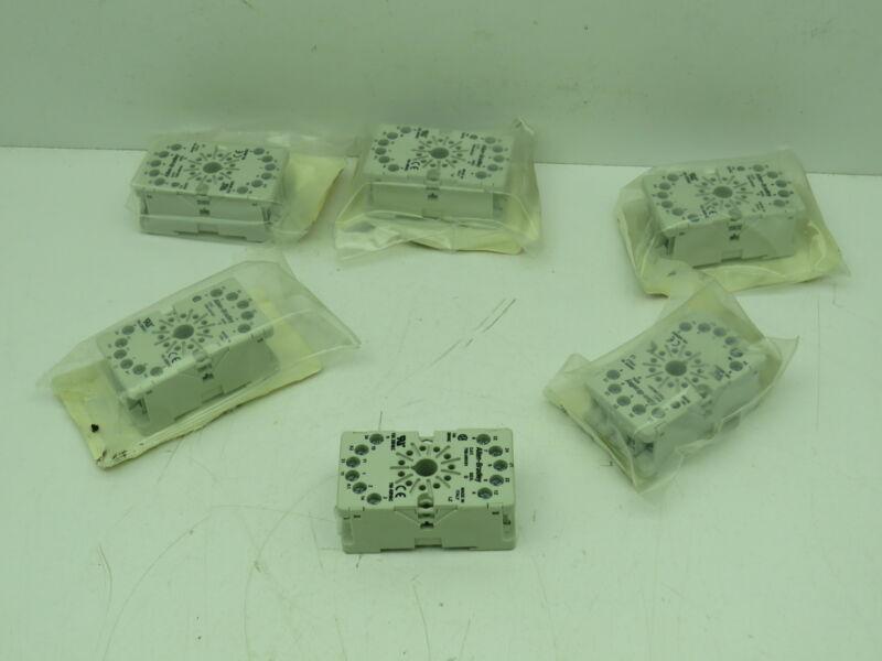 Allen Bradley 700-HN101 Relay Socket  Lot of 6