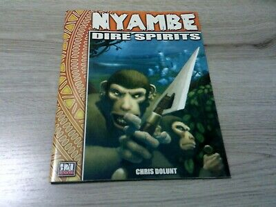 d20 Nyambe Dire Spirits Adventure 2003 Atlas Games AG3701 VG