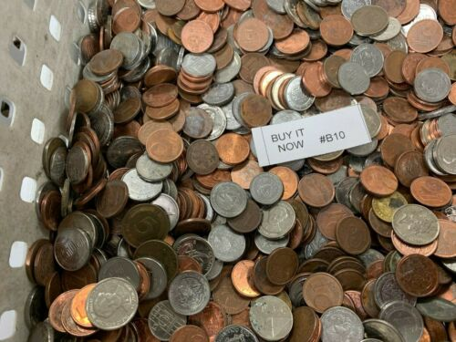"""Mixed -- """"Mini"""" -- World Foreign Coin - 5 LB -- Item #B10"""