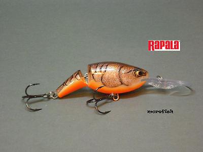 Hot tiger Rapala Wobbler Jointed Shad Rap 7cm JSR07 HT