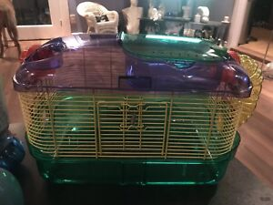 Kaytee critter trail hamster cage plus supplies