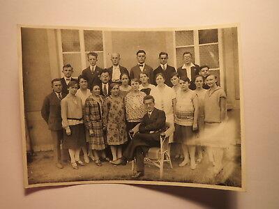 Gruppe Mädchen Jungen Frau & Mann - Schule ? Schüler ? - ca. 1920er Jahre / Foto ()