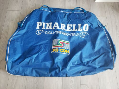 Very Rare Vintage 1980s PINARELL0 bicycle transport travel bag Italian