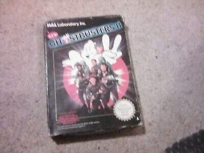 NINTENDO NES - NEW GHOSTBUSTERS II (2) BOXED PAL A GAME