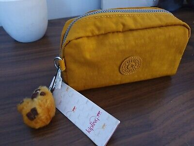 Kipling Yellow Ochre Purse/ Bag/ Pouch *BNWT*