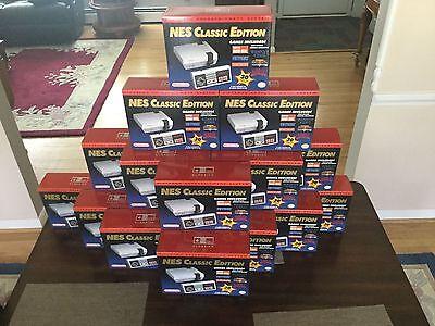 New NES Classic Edition Nintendo Mini Console with 30 Games