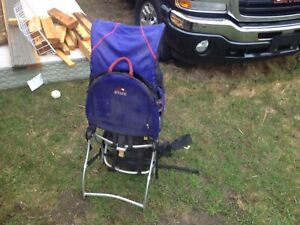 Back Country high End child carrier