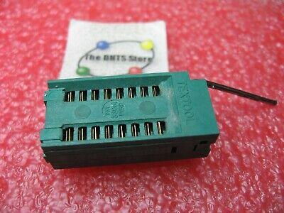 Zif Ic Socket Dip 16 Pin Textool - Nos Qty 1
