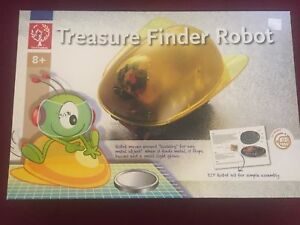 Treasure finder robot: learning toy